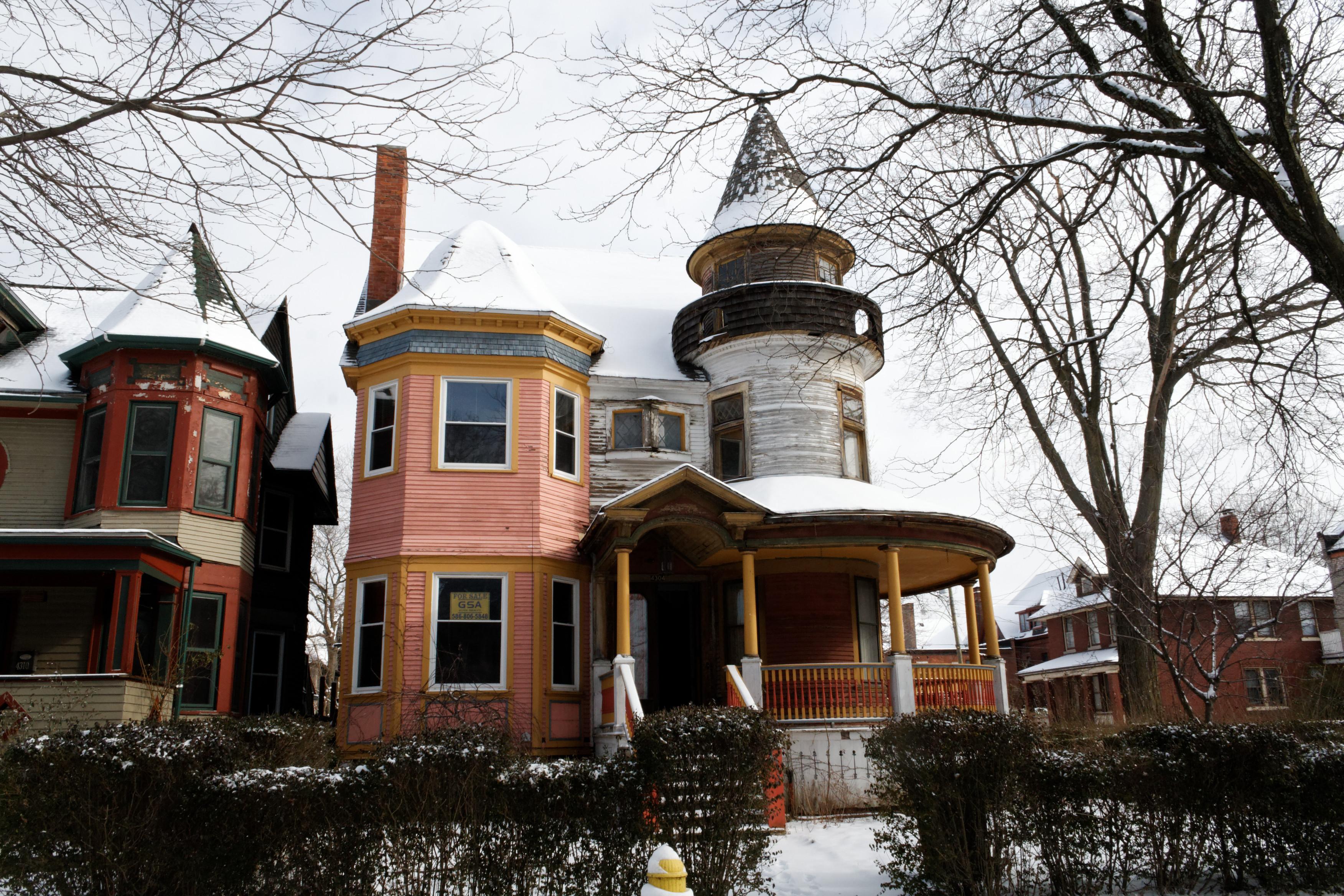 The Sullivan House, Detroit, Michigan