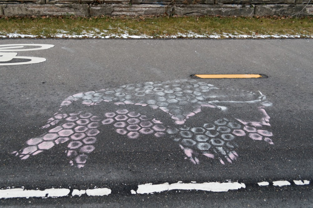 Hex Buffalo on Dequindre Cut