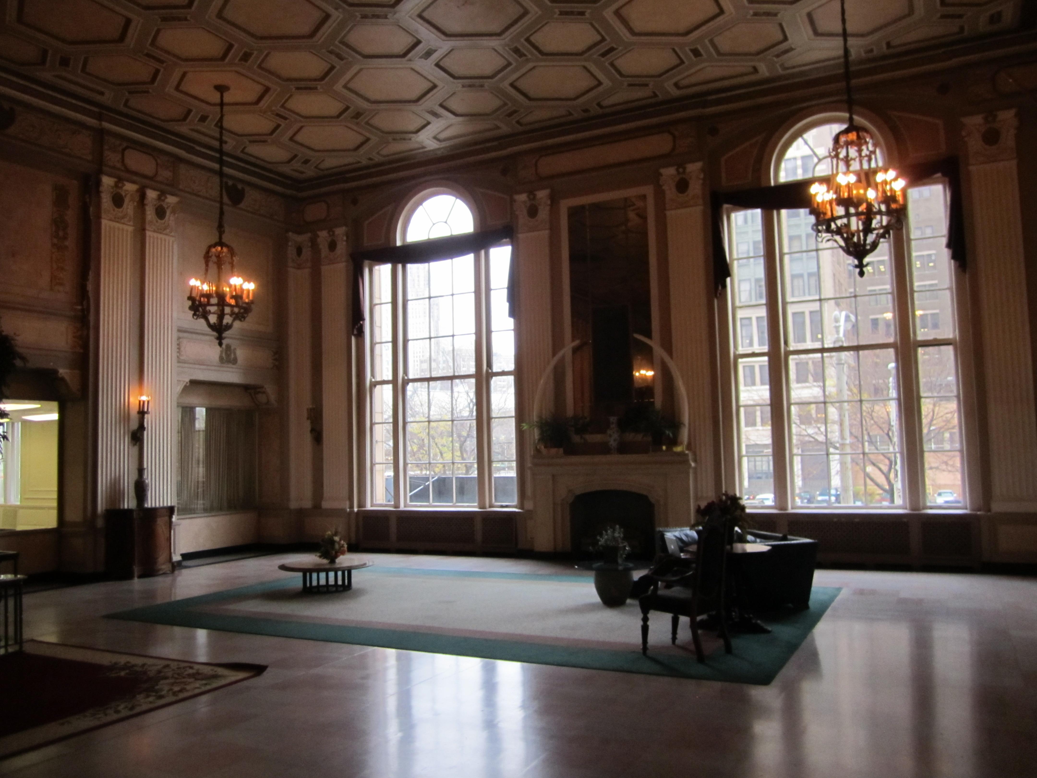 The Leland Lobby