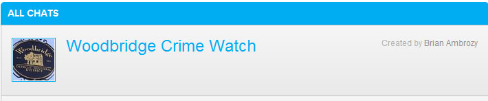 Woodbridge Crime Watch group