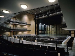 The Detroit School of Arts auditorium
