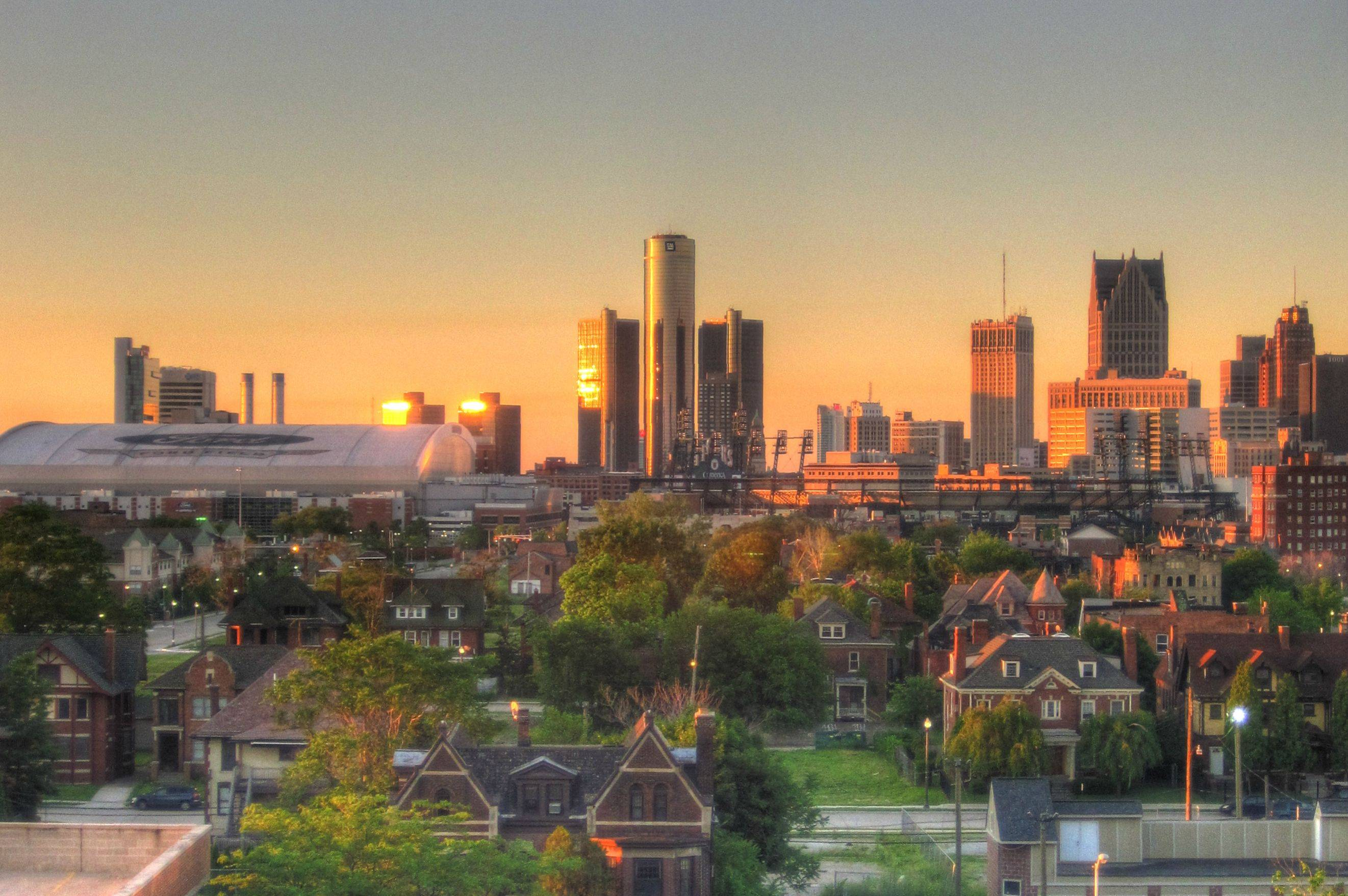 Detroit in the morning by ObnoxiousCarbuncle