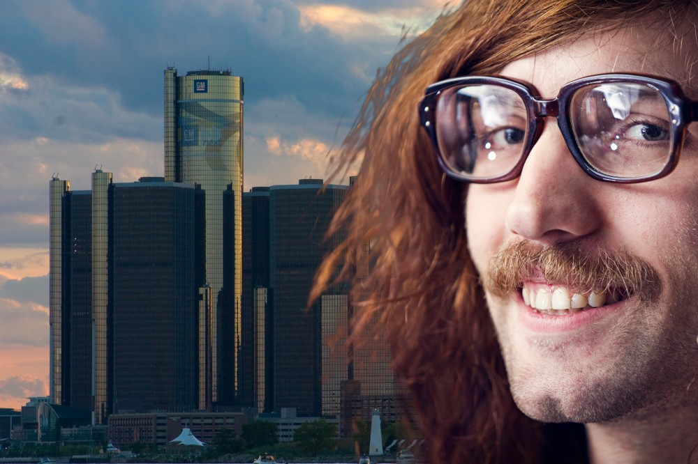 Hipsters take over Detroit