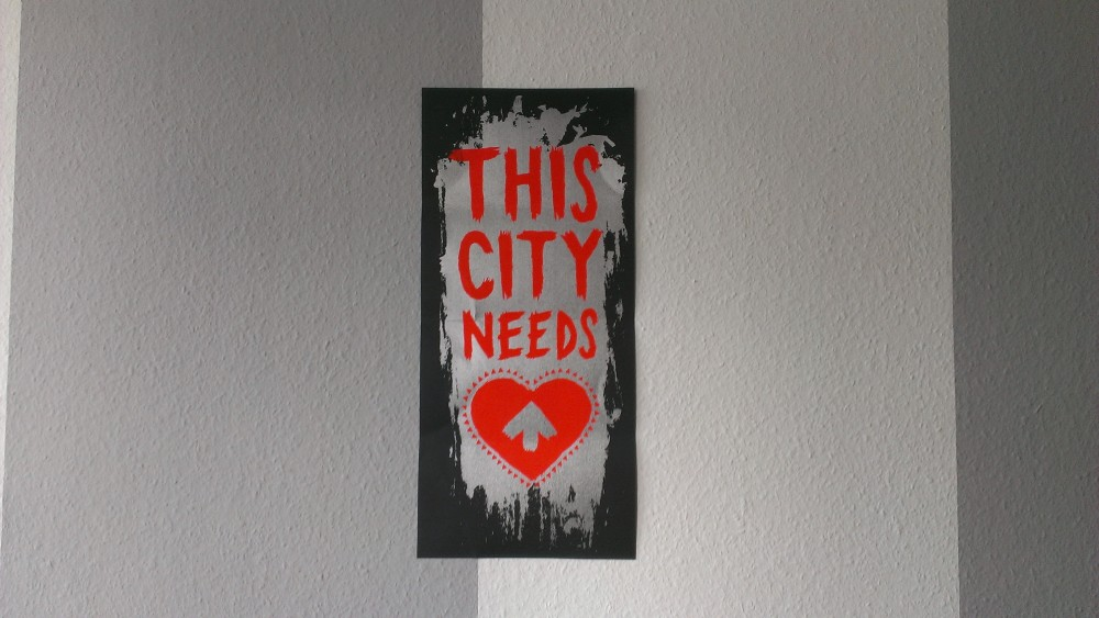 This City Needs Love poster