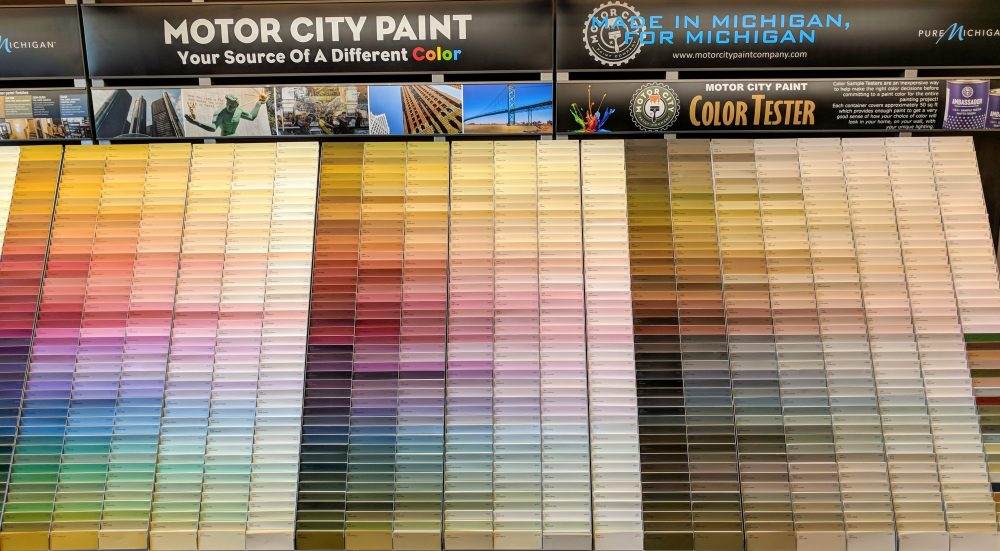 Motor City Paint color swatches